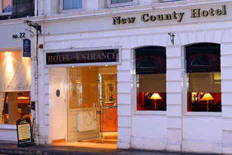 New County Hotel - A Gourmet Stay in The Gateway to The Highlands - Save 52%