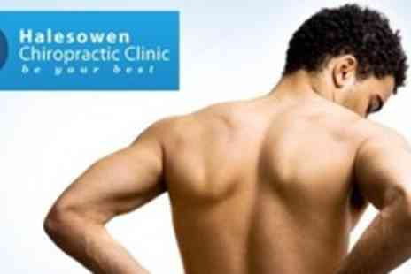 Halesowen Chiropractic Clinic - Chiropractic Consultation With Four Treatment Sessions - Save 79%