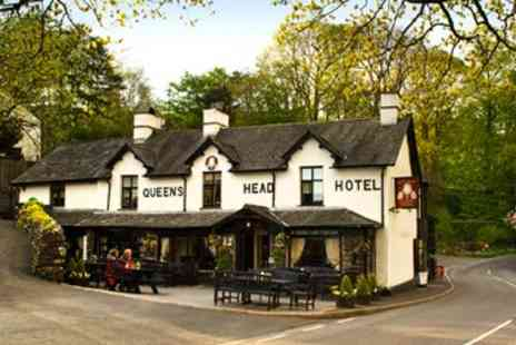 The Queens Head Hotel - In Lake District Two Night Stay for Two - Save 54%