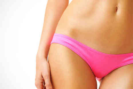 Divine Hair and Beauty - Half Leg Wax or Brazilian Bikini Wax Manicure and Eye Brow Shape - Save 50%