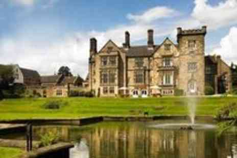 Breadsall Priory - Full Day Leisure Club Access With Coffee and Cake For Two - Save 51%