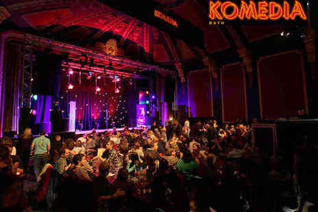 Komedia - Two Tickets with Meal for The Noise Next Door Comedy Show - Save 51%