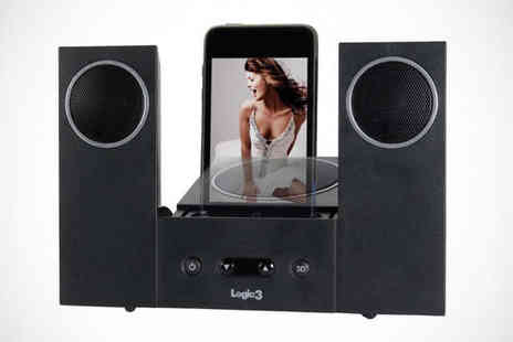 Logic3 - Station22 iPod and iPhone Speaker Dock - Save 66%