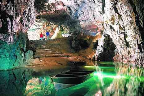 Wookey Hole Caves - Family Pass Plus Crazy Golf and Brochure - Save 38%