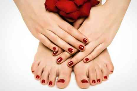 Pedicure Plus - Deluxe Manicure and Pedicure - Save 69%