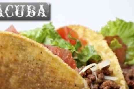 Tacuba - Three Course Authentic Mexican Fare For Two - Save 62%
