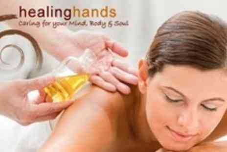 Healing Hands - One Hour Thai Oil Massage or Minute Thai Herbal Facial - Save 65%