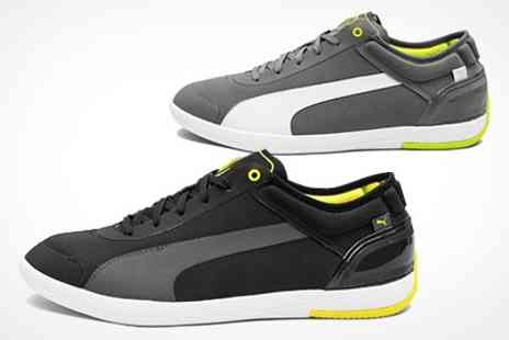 Born on the Streets - Mens Puma Ultra Lite Trainers in Black or Grey - Save 50%