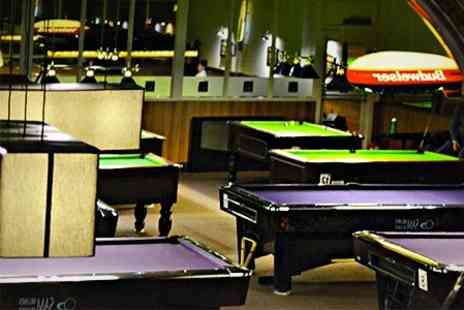 The Ball Room - Two Hours of Pool With Nachos and Pizza - Save 68%
