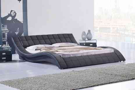 Sleep Design - Genoa Bed Frame in Choice of Colours - Save 20%