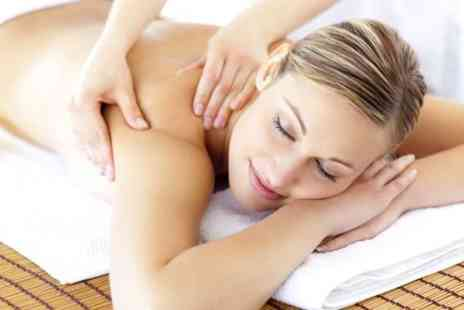 NV Beauty Clinic - Luxury pamper package including a back massage facial & a mani or pedi  - Save 71%