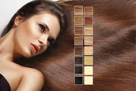 Glamour Hair & Beauty - Full head of 14 Remy micro weft human hair extensions - Save 68%