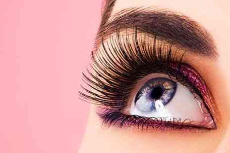 EJS Beauty - Full Set of Marvel Lash Eyelash Extensions Plus Eyebrow Shape - Save 60%
