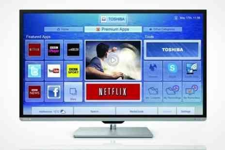 Crampton and Moore - Toshiba 50inch Smart 3D HD LED TV With Five Year Warranty - Save 22%