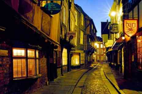 Ghost Creeper - Evening Ghost Tour of York for Two - Save 50%