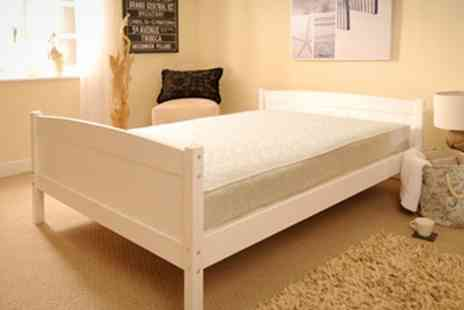 Sleep Softly - Solid Pine Bed Frame - Save 66%