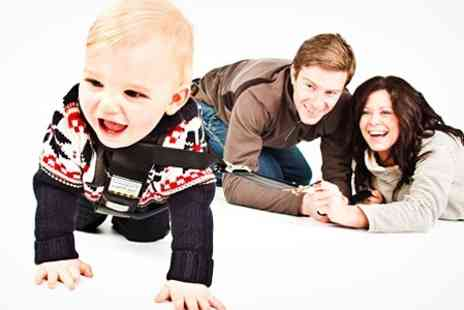 Digital Imaging Wales - Family Photoshoot With Prints - Save 91%