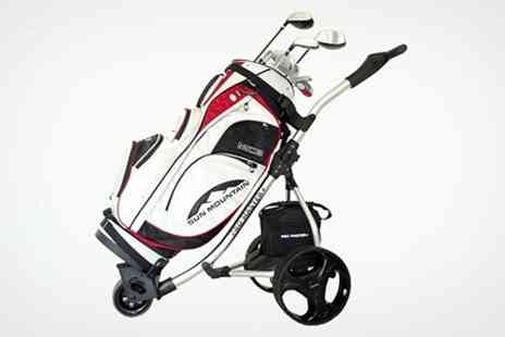 AGP - Promaster Plus Folding Electric Golf Trolley - Save 36%