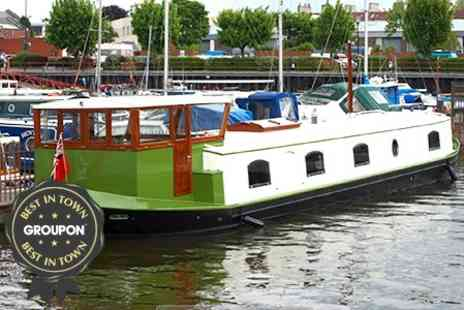 Burscough Boat Trading - Canal Cruise With Afternoon Tea or Dinner - Save 51%