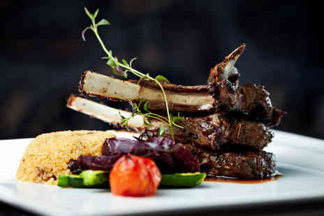 The Bank Bar and Brasserie - Three course dinner for 2 - Save 61%