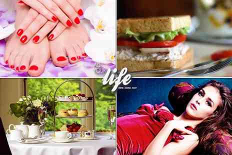 All Your Life - Four hour pampering experience for two - Save 90%