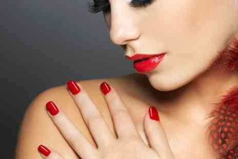 Chaps and Dames - Shellac Manicure - Save 36%