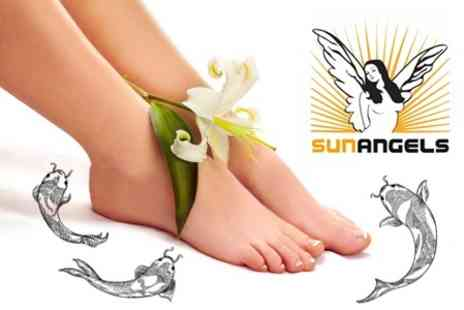 Sun Angels - Garra Rufa Fish Pedicure for £7 at SunAngels (£20 Value) - Save 65%