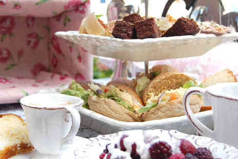 James Wilson Coffee Shop - Afternoon Tea for Two including Sandwiches Cakes Scones - Save 52%