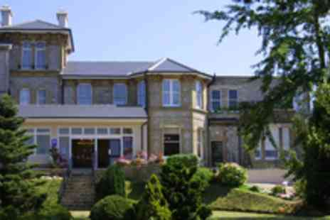 Melville Hall Hotel - 2 nights for 2 people on the Isle of Wight plus Car ferry, breakfast & 6 spa treatments - Save 54%