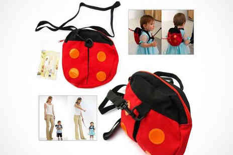 Livmore - Ladybird or Little Bat Safety Rucksack - Save 54%
