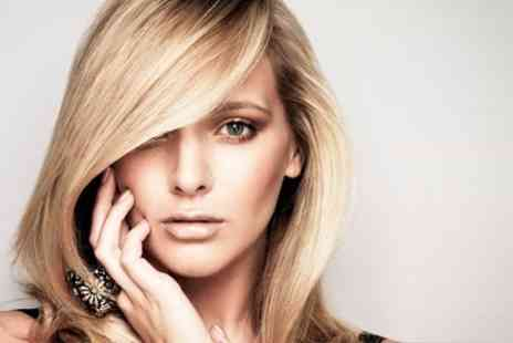 Dimensions Hair and Beauty - Full Head Highlights or Colour With Restyle Cut - Save 69%