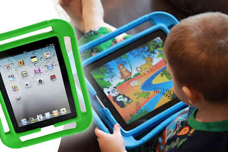 Livmore - Protect your iPad whilst helping your child get to grips with technology Get the Bump & Grip iPad Case - Save 73%