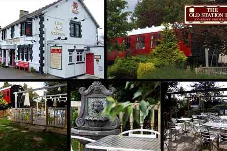The Old Station Inn - One Night Stay for two - Save 58%