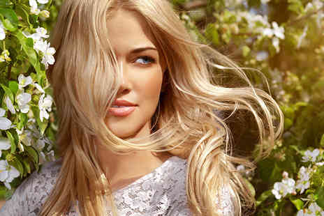 Salon Two - Full head of foil highlights or a full head of colour plus a cut and blow dry  - Save 53%