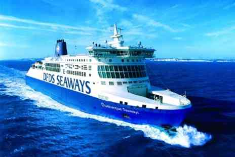 DFDS Seaways - Northern France Return Ferry Travel With Car For Four from Dover to Dunkirk - Save 69%
