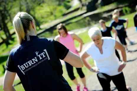 Burn It Fitness Scotland - Five Outdoor Boot Camp Sessions - Save 67%