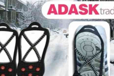 My Warehouse - Pair of Dual Action Ice Grips Get a grip and walk safely this winter - Save 60%
