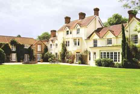 Esseborne Manor - Victorian Hampshire Escape with Gourmet Tasting Dinner - Save 50%