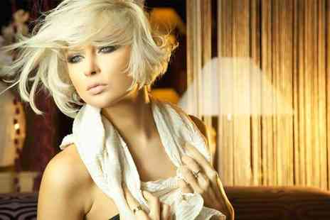 The Hair Studio - Full head of colour or a half head of highlights, plus wash, cut and blow dry - Save 66%
