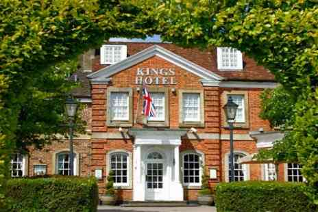 Kings Hotel - In Buckinghamshire One Nights For Two With Breakfast and Bubbly - Save 58%