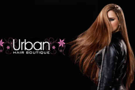 Urban Hair Boutique - Full Head of Colour or Half Head of Foils and Blowdry - Save 53%