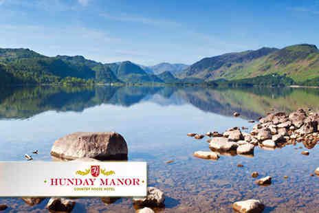 Hunday manor - In Lake District one night stay for two guests - Save 34%