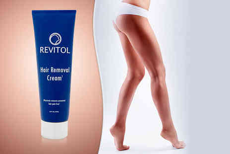 Beauty & Slimming - 118ml tube of Revitol hair removal cream - Save 46%