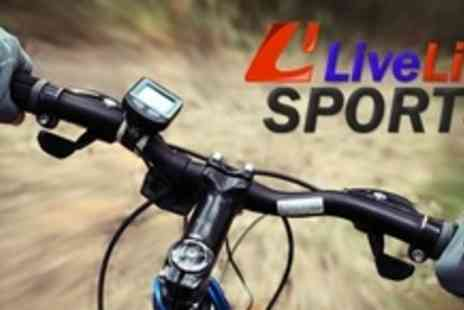 Live Life Sports - One Bike With Choice of BMX or Mountain Styles - Save 60%
