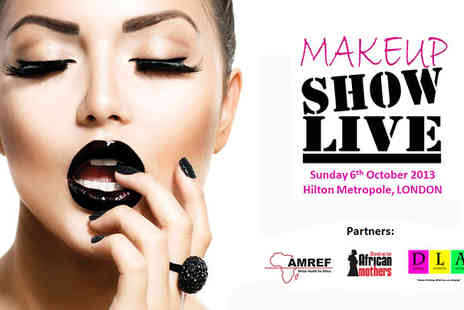 Makeup Show Live - One tickets to the highly acclaimed London Make Up Show  - Save 40%