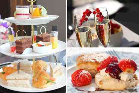 Larkfield Priory Hotel - Supreme afternoon tea with sparkling wine for two - Save 70%