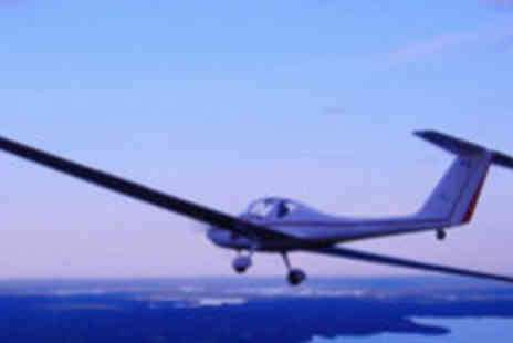 Hinton Pilot Flight Training - One hour motor gliding experience - Save 60%