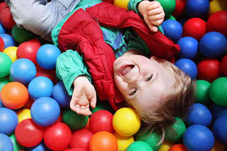 Curly Whirleez - One Indoor Play Centre Sessions for Two Children - Save 56%