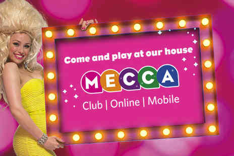 Mecca Bingo - Bingo session for 2 including a burger drink - Save 43%