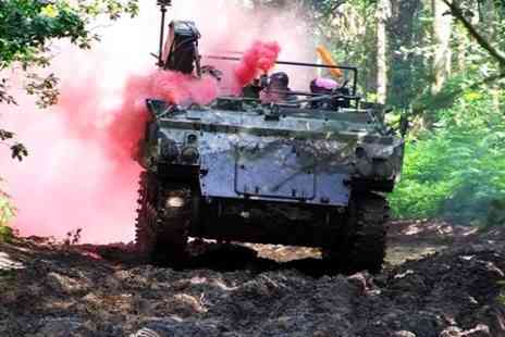 Ultimate Tracks - Tank Paintballing With 100 Paintballs For Two to Twenty - Save 88%